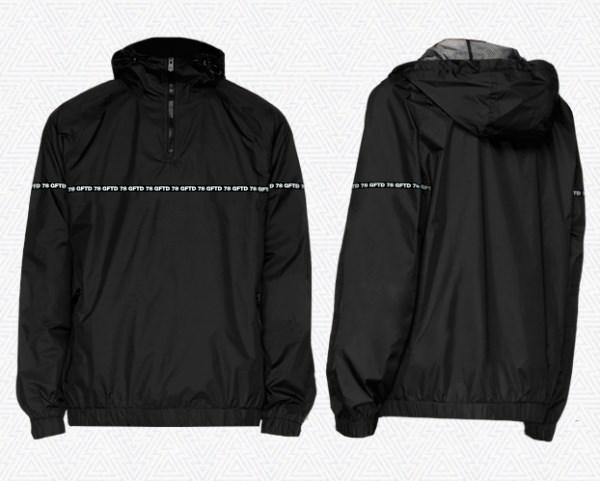"Куртка ""GIFTED"" SS18/151 черный - фото 6276"