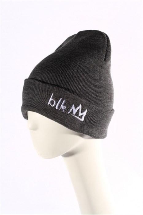 Blk Crown Шапка Broken logo (dark grey) - фото 6298