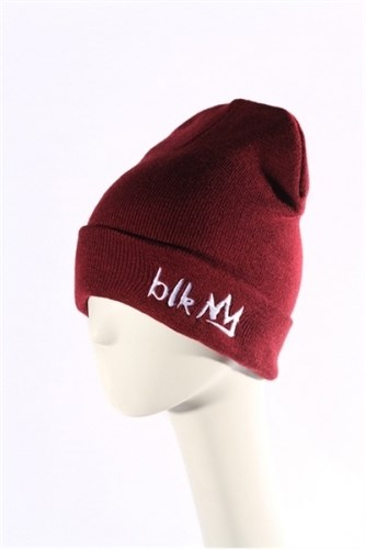 Blk Crown Шапка Broken logo (maroon) - фото 6299