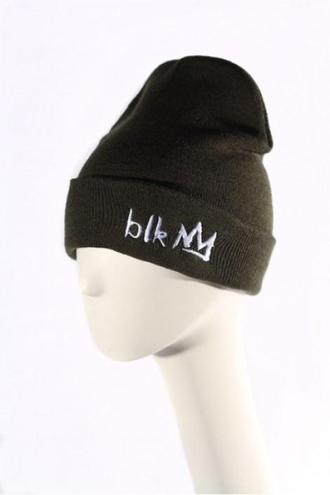 Blk Crown Шапка Broken logo (olive) - фото 6300