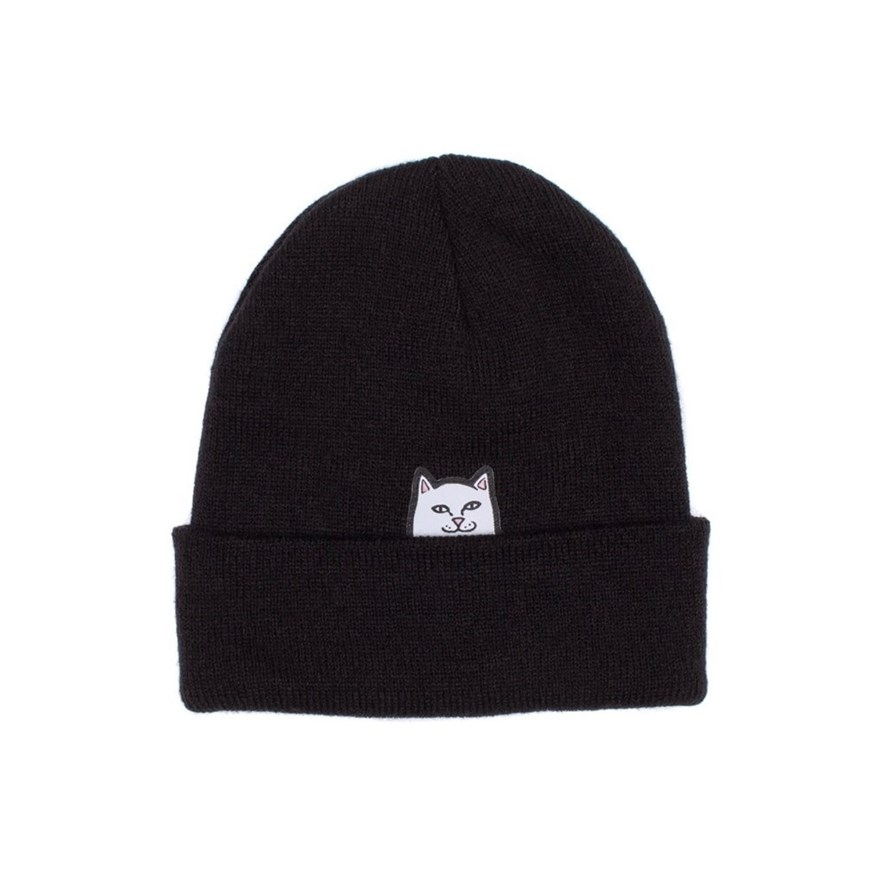 RIPNDIP Шапка Get Out Here Beanie black - фото 6322