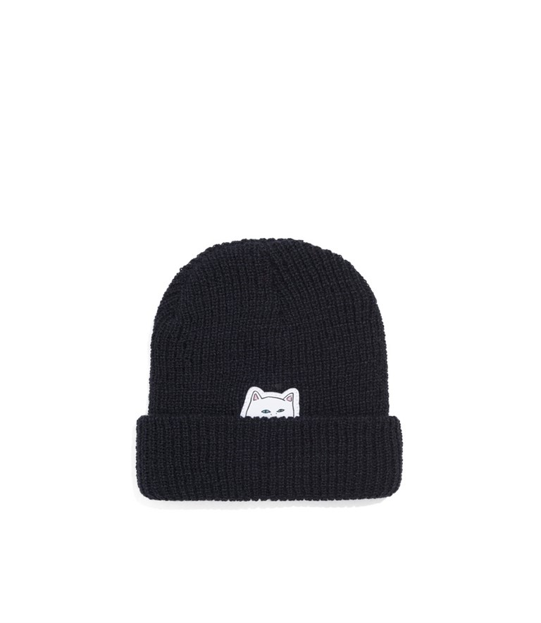 RIPNDIP Шапка Lord Nermal Beanie navy - фото 6324