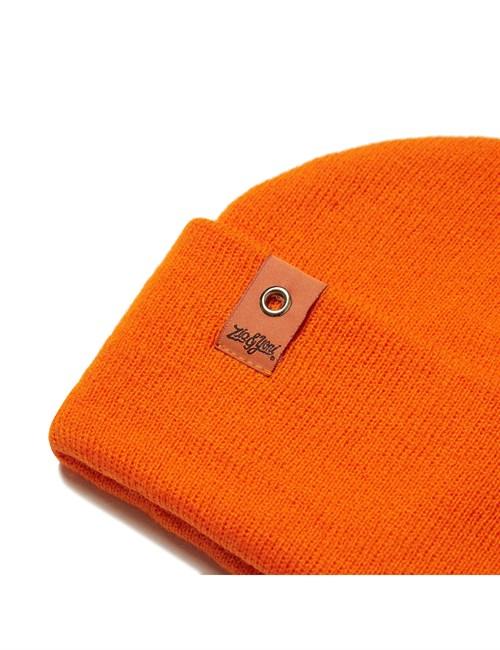 Шапка ZIQ & YONI SMALL PATCH AW18 оранжевая (ONE SIZE) - фото 6331