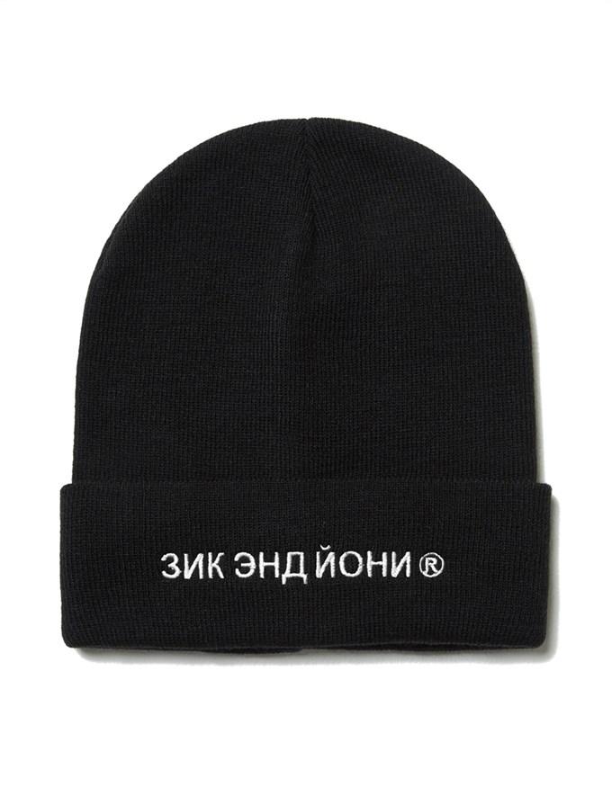 Шапка ZIQ & YONI RUS AW18 черная (ONE SIZE) - фото 6454