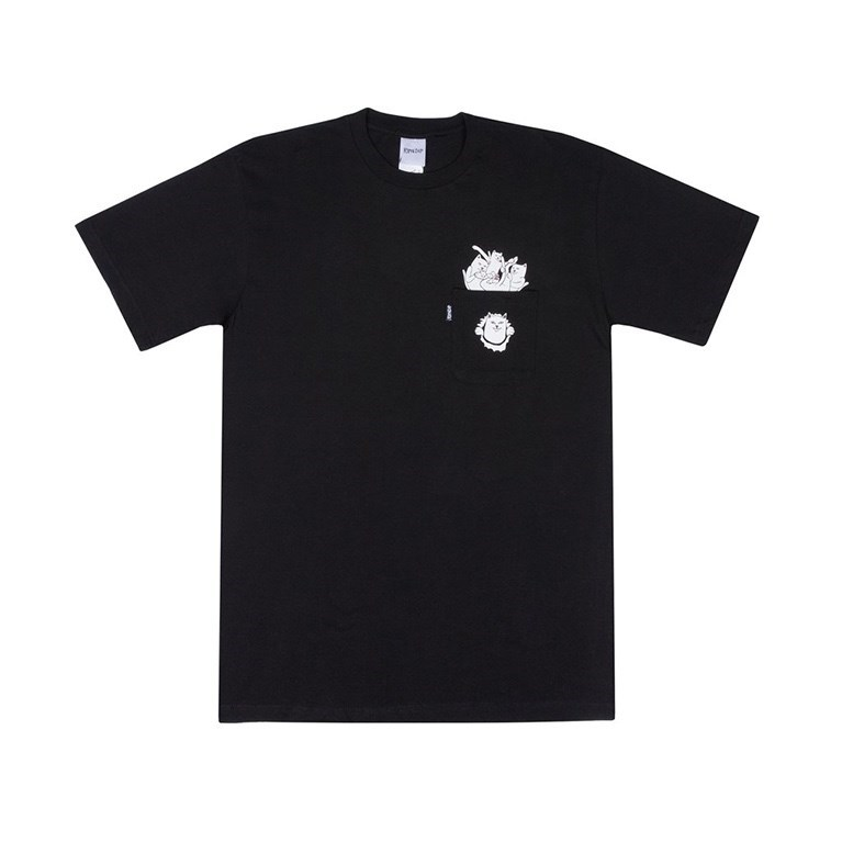 RIPNDIP Футболка Stuffed Tee Black - фото 7091