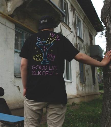Blk Crown футболка Neon Black - фото 7318