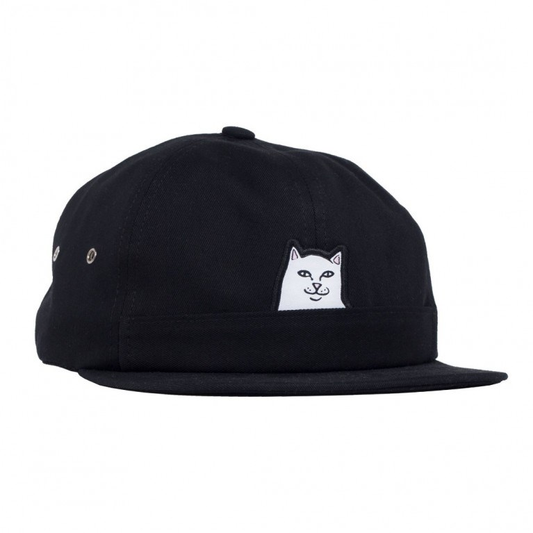 RIPNDIP Кепка Lord Nermal 5 Panel Pocket Hat Black - фото 7345