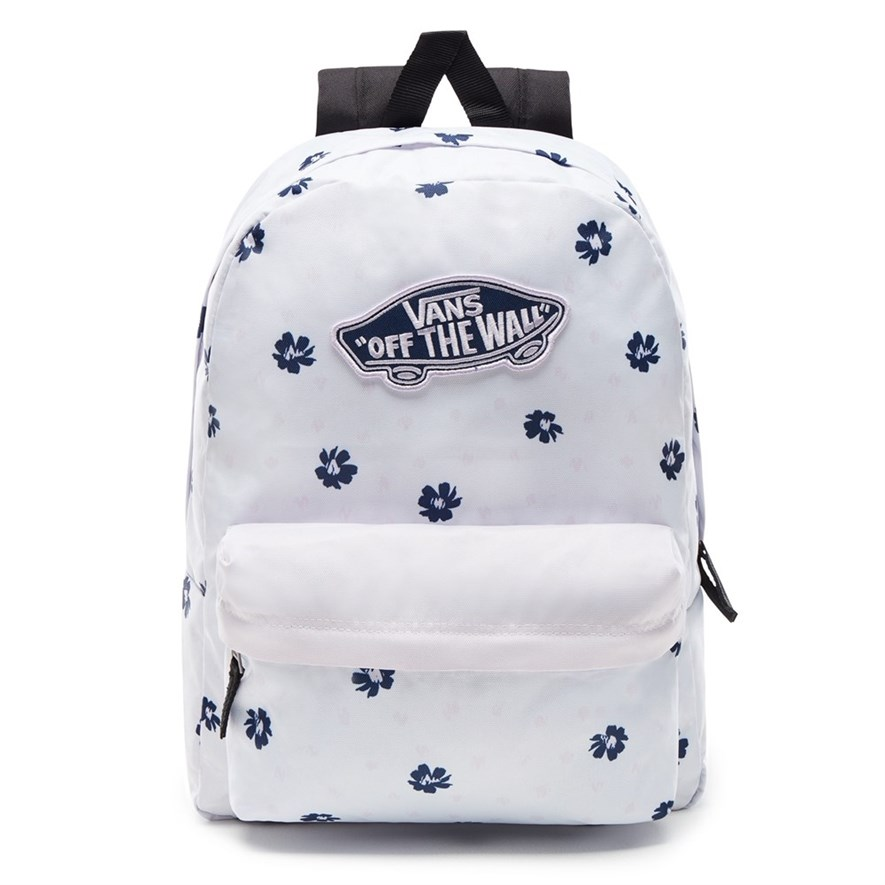 VANS Рюкзак VA3UI6YGA WM REALM BACKPACK WHITE ABSTRA - фото 7641