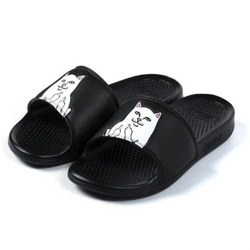 RIPNDIP Обувь Lord Nermal Slides Size 11 black - фото 7931