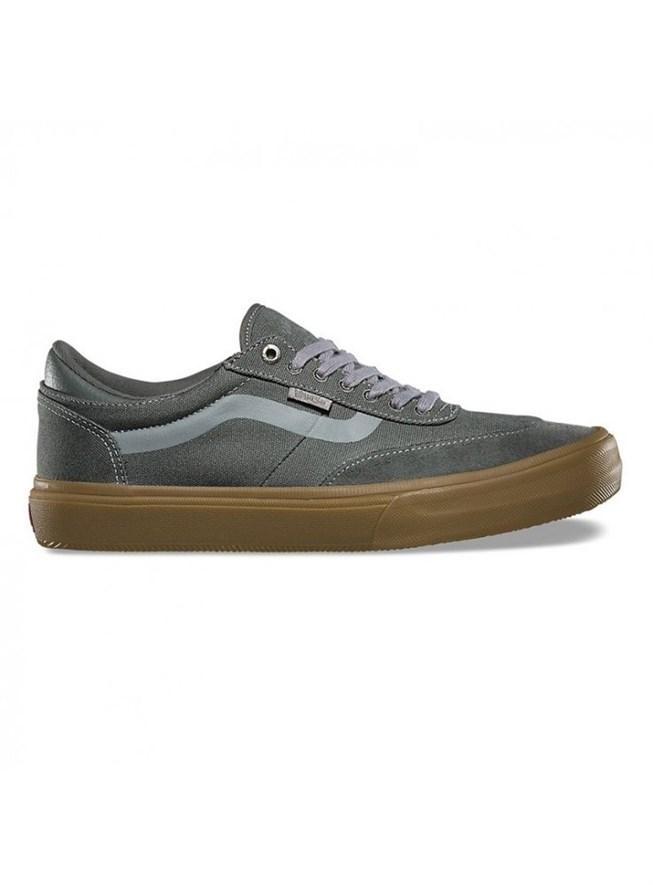 Обувь Vans MN GILBERT CROCKETT GUNMETAL/GUM - фото 8215