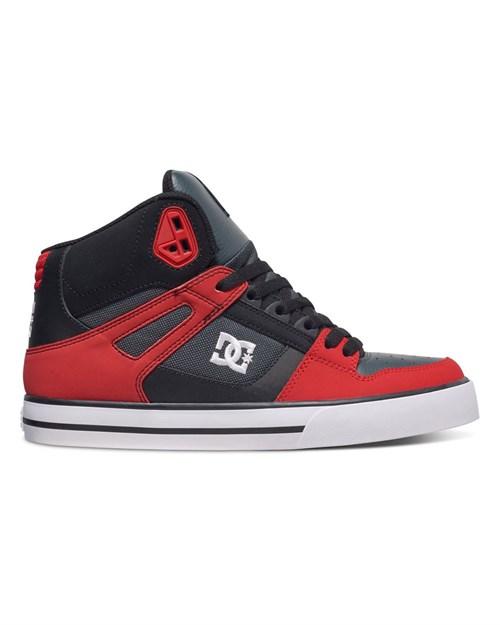 Обувь DC Spartan grey dark red - фото 8271