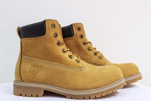 Ботинки Jack Porter TW2701-1-NW-M Нубук, желтый 50%шерсть - фото 8488