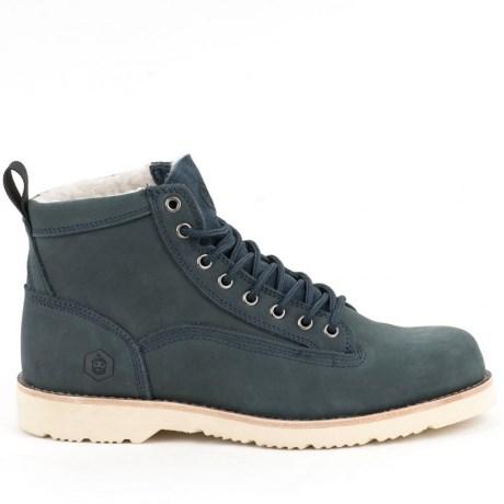 Ботинки Jack Porter TW9836-N Нубук, синий 50% шерсть - фото 8497