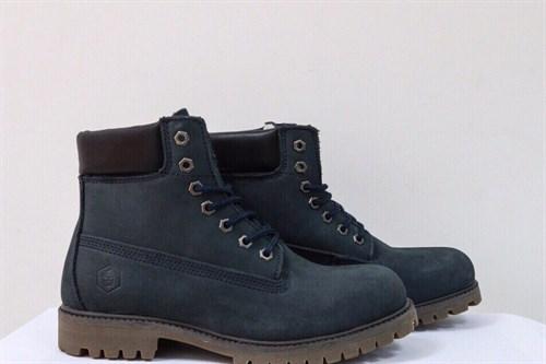 Ботинки Jack Porter TW2701-1-NW-M Нубук, синий рант тёмный 50%шерсть - фото 8538