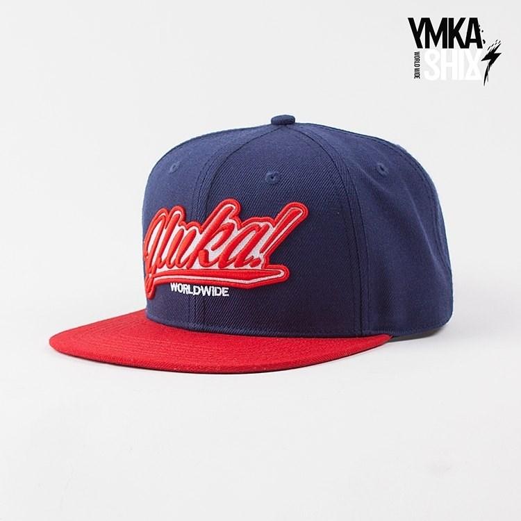 Кепка Ymka Shix navy logo snap (сине-красный) - фото 9727