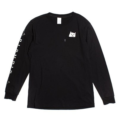 Лонгслив RIPNDIP Lord Nermal L/S Black