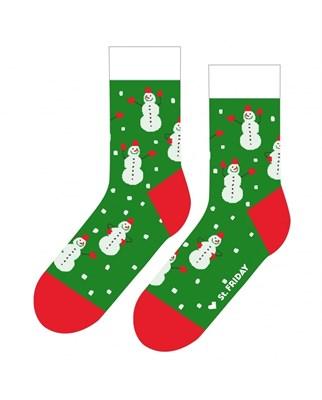 Носки St. Friday socks Снеговик судьбы, или с легким паром. Арт 479-9 р. 42-46
