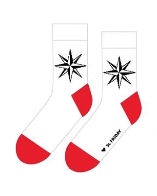 Носки St. Friday socks Роза ветров арт 406-2 р. 42-46