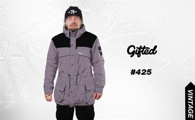 Куртка GIFTED 110 серо-черная