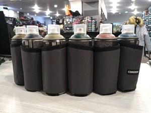Сумка поясная для баллонов Cans Bag Серый Темный