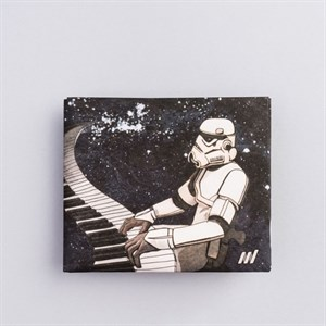 Кошелек NEW WALLET - new Starwars;сделан из Tyvek®