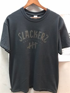 Футболка slackers logo charcoal