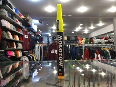 Маркер MOLOTOW GrafX UV 1мм Флюр.Желтый 03