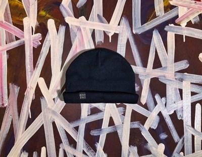 BidloBikes шапка стрит просвещение (лого надпись) черный