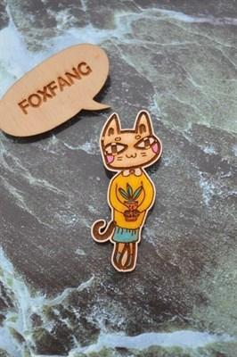 FoxFang значок котик алоЯвера