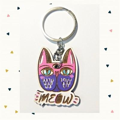 FoxFang Брелок кот meow