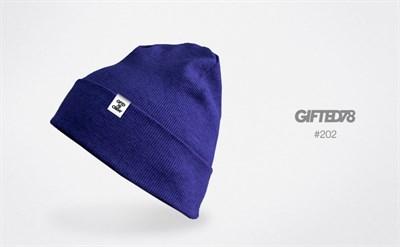 """Шапка """"GIFTED"""" knitfleece18/202"""