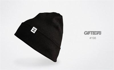 """Шапка """"GIFTED"""" knitfleece18/198"""