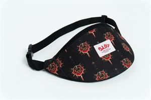 Oldy поясная сумка rosa black