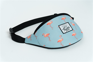 Travel поясная сумка flamingo blue