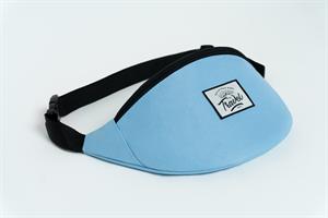 Travel поясная сумка logo cream blue