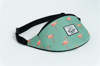 Travel поясная сумка flamingo green