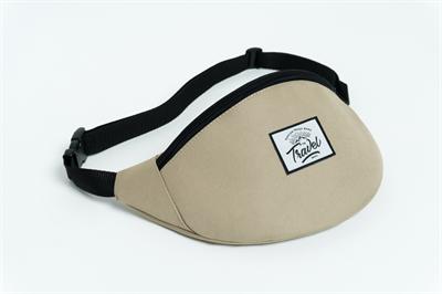Travel поясная сумка logo cream besh