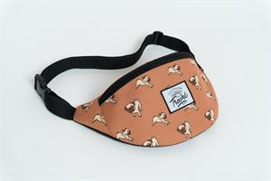 Travel поясная сумка mops braun