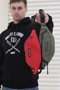 Blk Crown сумка поясная Dealer2 red
