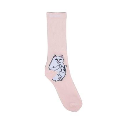 RIPNDIP носки Lord Nermal Socks Pink