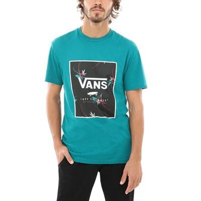 Vans Футболка VA312SUUX PRINT BOX quetzal