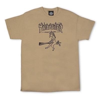 Thrasher футболка WITCH S/S TAN