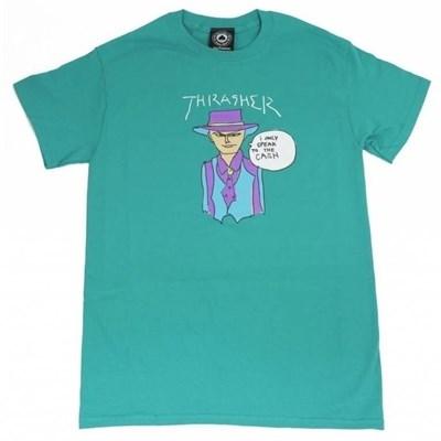 Thrasher футболка GONZ CASH S/S JADE