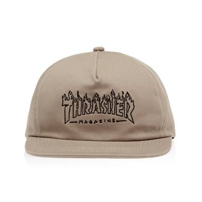 Thrasher кепка WITCH SNAPBACK TAN