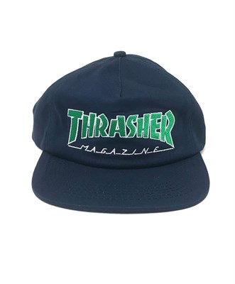 Thrasher кепка OUTLINED SNAPBACK NAVY