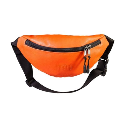 """Поясная сумка """"Тайна"""" Экокожа оранжевый"""