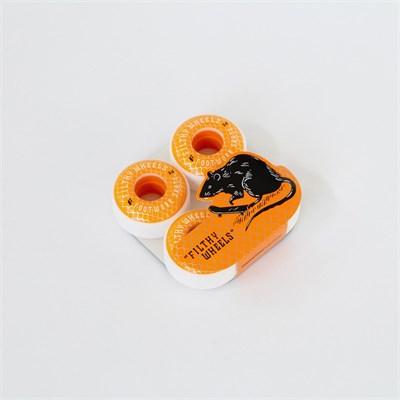 Комплект колес Footwork FILTHY ORANGE (54 мм 85A Форма Classic )