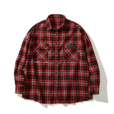 Рубашка YMKA SHIX Detection красный цвет