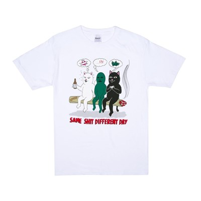 Футболка Ripndip Same Dreams Tee White