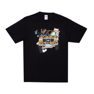 Футболка Ripndip The Whole Gang Tee Black